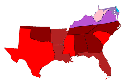 Politics Of The Southern United States Wikipedia - Us party map