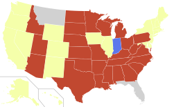 Map of US mandatory waiting period laws.svg