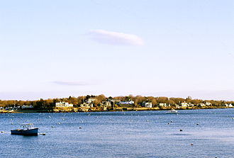 Marblehead, Massachusetts - Marblehead Neck as viewed from the landing on State Street