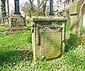 Marburg Friedhof Barfüßertor 060 Epitaph Biskamp 1809.JPG