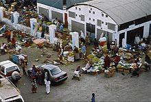 Mercato nel centro della città di Gibuti