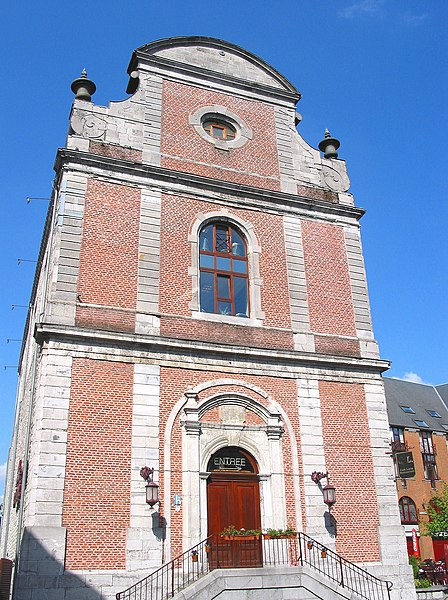 Marche-en-Famenne (Belgium), the former Saint Ignatius' church (XVIIIth century).