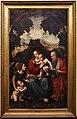 Marco d'oggiono, madonna col bambino, un angelo, san giovannino e san girolamo, 01.jpg