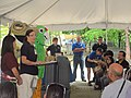 Marelisa Rivera, USFWS Assistant Field Supervisor addressing audience at the 2011 Endangered Species Day celebration at the Puerto Rico Zoo (5756020258).jpg