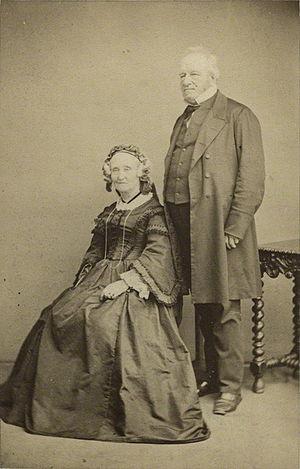 John Edward Gray - Gray with his wife Maria Emma, 1863