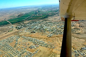 Mariental, Namibia - Mariental from bird's eye view (2017)