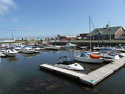 The Marina in Shippagan
