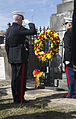 Marines honor Maj. Daniel Carmick at wreath-laying ceremony 141108-M-MH863-005.jpg