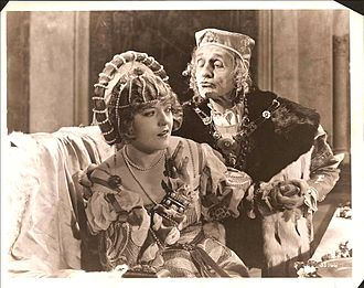 Marion Davies - Davies and Arthur Forrest on the set of When Knighthood Was in Flower (1922)