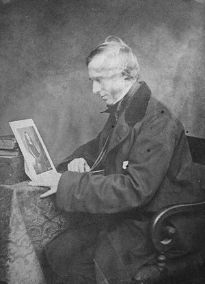 Mark Napier (historian) - Mark Napier, photograph c.1860.