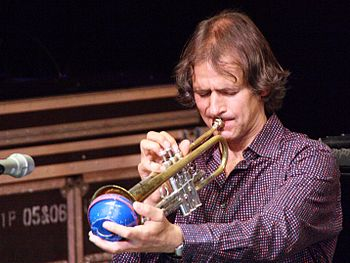 English: Trumpeter Markus Stockhausen at the T...