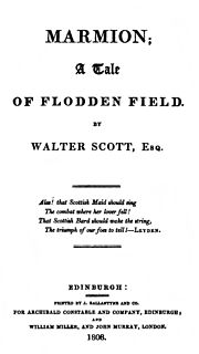 Poem by Walter Scott