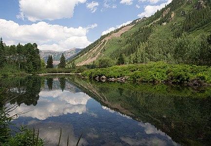 Maroon Bells area of Colorado