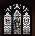 Martin of Tours window, St Hilary, Wallasey.jpg