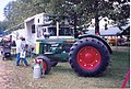 Massey Ferguson 98 and Oliver Super 99 hybrid at the Summer 2006 Pioneer Gas & Steam Engine Society Show in Saegertown, PA 2.jpg