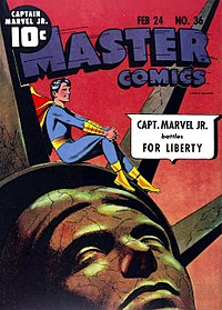 Captain Marvel Jr  - Wikipedia