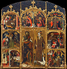 Altarpiece of Saint John the Baptist and Saint Stephen