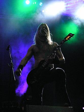 Samuli Ponsimaa - Samuli Ponsimaa during Finntroll concert on Masters of Rock 2007 festival.