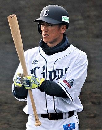 Kazuo Matsui - Matsui with the Saitama Seibu Linons in 2018
