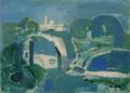 MatsumotoShunsuke Landscape in Blue 1940.png