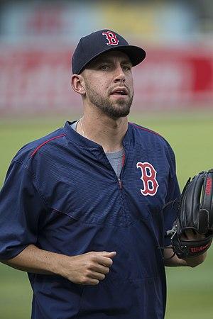 Matt Barnes (baseball) - Barnes with the Boston Red Sox
