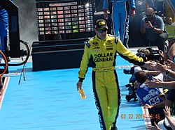 Matt Kenseth at the Daytona 500.JPG