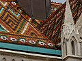 Matthias Church roof detail, 2013 Budapest (232) (13228481865).jpg
