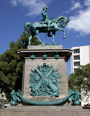 Major General George B. McClellan - Image: Mc Clellan monument by Carol M. Highsmith
