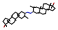 Mebolazine molecule skeletal.png