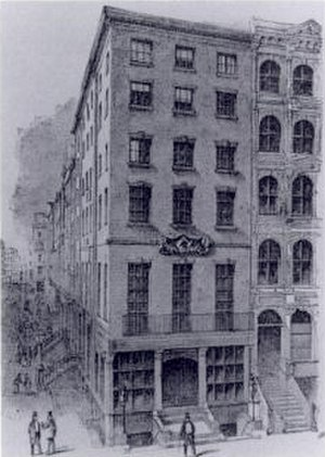 General Society of Mechanics and Tradesmen of the City of New York - Mechanics' Hall, 1803