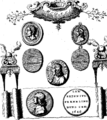 Medals, coins, great seals, and other works of Thomas Simon- engraved and described by George Vertue Fleuron T138035-7.png