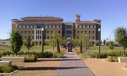 Paul L. Foster School of Medicine within Texas Tech University HSC at El Paso's campus Medical Sciences Building II.jpg