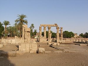 Temple of Montu (Medamud) - Temple of Montu in Medamud