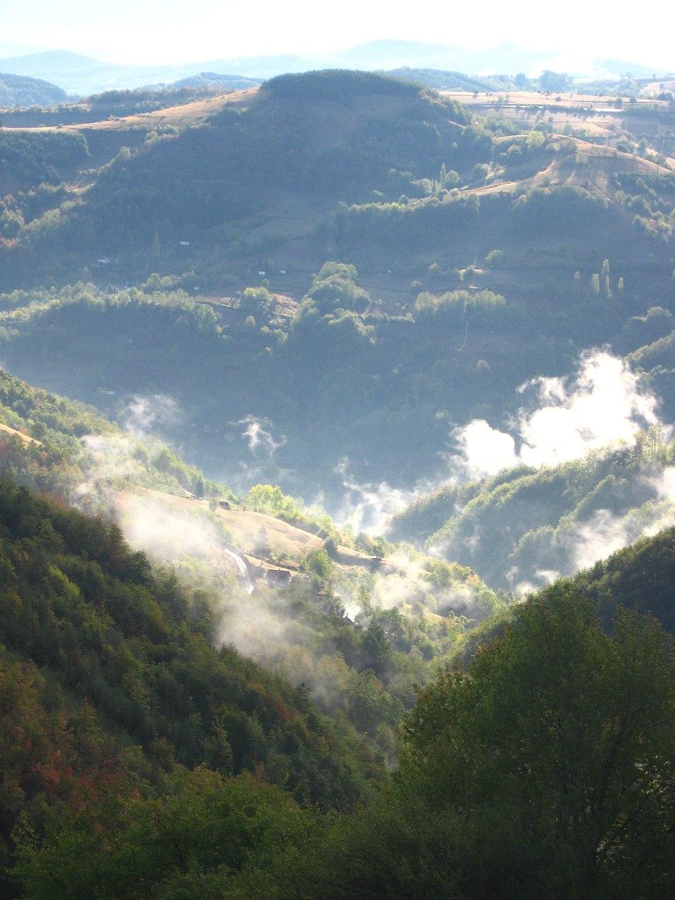 Medvednik - zapadna Srbija - Dolina Velike i Male reke u jesen 1