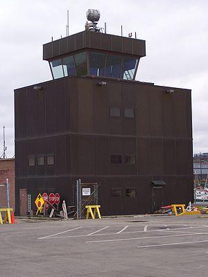 Meigs Field - Meigs Field Airport air traffic control tower
