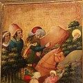 Meister francke, altare di santa barbara, amburgo 1420 circa, dalla chiesa di kalanti, 03 inseguimento e tradimento dei pastori 1.JPG