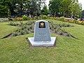 Memorial Stone in Castle Park (geograph 5382840).jpg