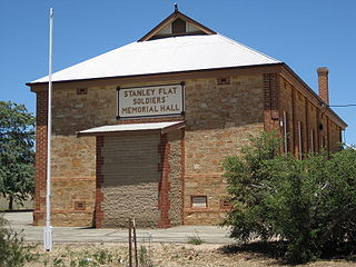 Stanley Flat, South Australia Suburb of District Council of Clare and Gilbert Valleys, South Australia