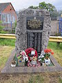 Memorial to USAAF servicemen, North Cheshire Trading Estate, Wirral, England (1).jpg