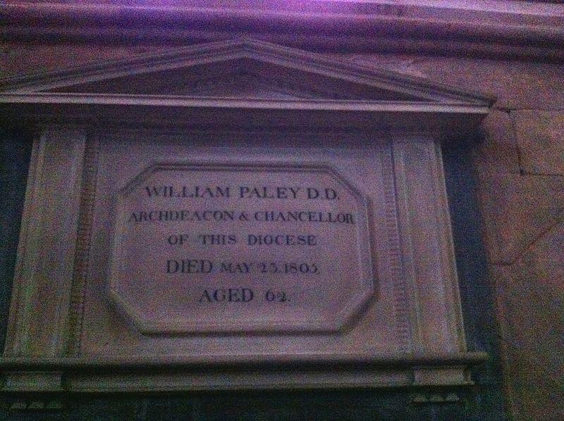 File:Memorial to William Paley.JPG