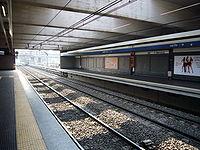 Metro B - stazione Ponte Mammolo 1010801.JPG