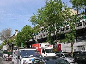 Cambronne (Paris Métro) - Image: Metro Cambronne