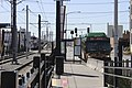 Metro Route 150 at SODO Station.jpg