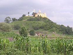 Great Pyramid of Cholula - Wikipedia