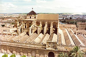 Great Mosque of Cordoba, founded in 786 years ...