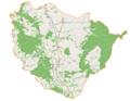 Międzylesie (gmina) location map.png