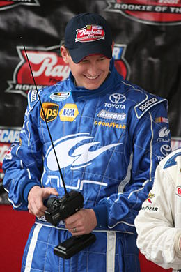 Description de l'image  Michael McDowell 2008 NASCAR Rookie.jpg.