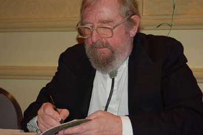 Picture of an author: Michael Moorcock