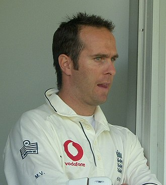 Handled the ball - Michael Vaughan was the penultimate cricketer to be dismissed handled the ball in international cricket, in 2001.
