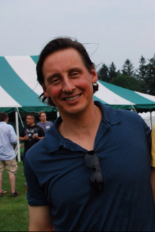 Michael Vranos at the Greenwich, CT polo club, August 2012.png